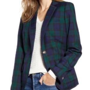 LOFT Women's Plaid Blazer size S